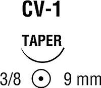 Covidien Suture Taper Point Size 7 0 Blue 18 Needle Cv 310