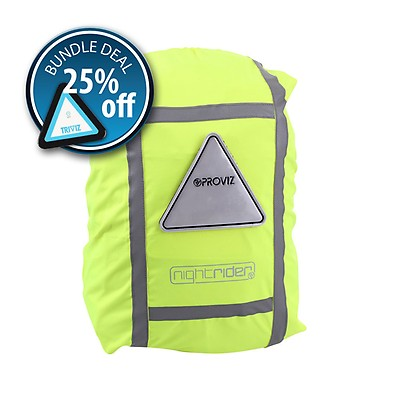 PROVIZ Bicycle Light Triviz Hi Tec Lighting Safety at it/'s best for Back Packs