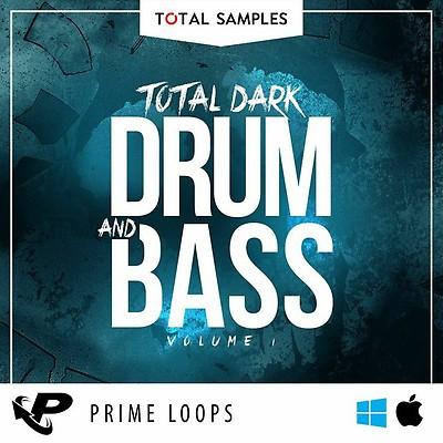 Dark Drum and Bass Sample Pack, Total Drum and Bass Loops, D&B Drum