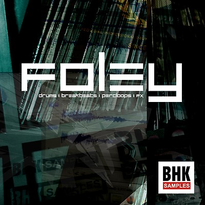 The Foley Lab! Sample Pack with Foley Percussion Loops