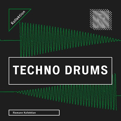 Techno Samples, Techno Drums 4, Riemann Kollektion,