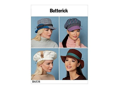 Schnittmuster Vogue 9044 Hüte | Stoffe Hemmers