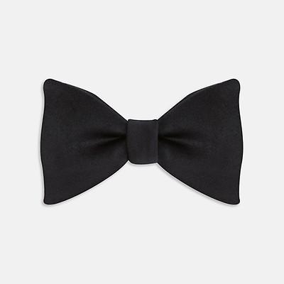 ce137a62de76 The Casino Royale White Dress Shirt as seen on James Bond. £255.00. Black  Satin Bow Tie