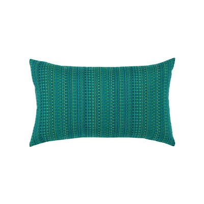 Elaine Smith Pillows Ombre Azure Lumbar Pillow Authenteak