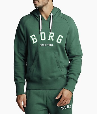 BORG SPORT HOOD Evergreen