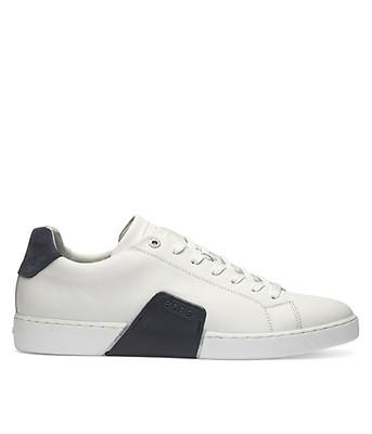 Björn Borg Clip M White green Herren Schuhe Sneakers