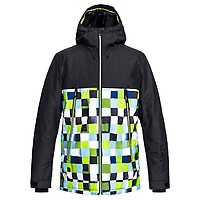 Quiksilver Mission Block Black Construct 2019  shop ski jacket with ... 89b3dbb324