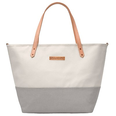Petunia Pickle Bottom City Carryall Baby Changing Bag with Change Pad and Wipes Case Meandering in Middleton