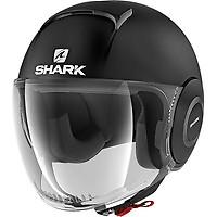 Casque Nano Blank Shark Moto Dafy Moto Casque Jet De Moto