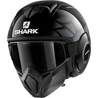 Casque Drak Blank Mat Shark Moto Dafy Moto Casque Jet De Moto
