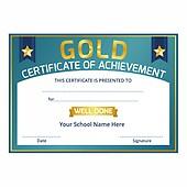 Certificates Primary