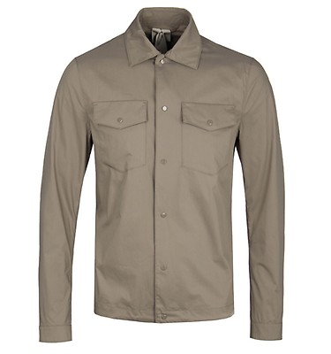 buy popular 22048 84265 Ten C Campus Stone Overshirt offer label