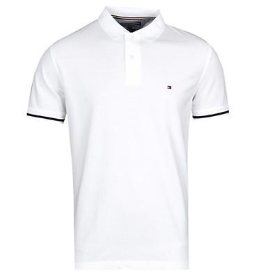 04e3bcb623551 Tommy Hilfiger Tipped Regular White Polo Shirt ...