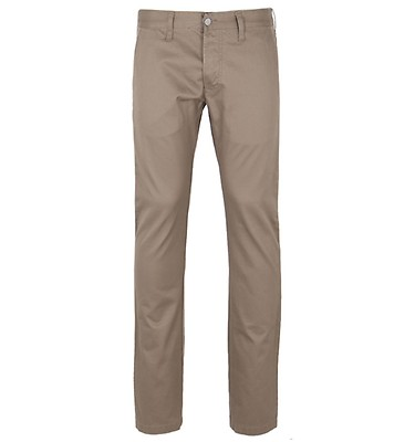 3dc60859 Edwin 55 Stone Beige Compact Twill Chinos Trousers offer label