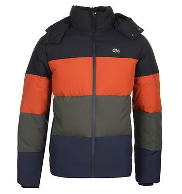 977b160e6 Lacoste Colour Block Panel Down Jacket offer label