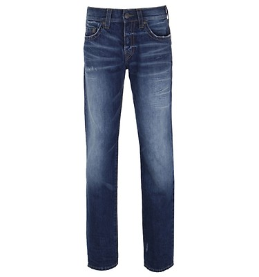 28fcaa39 True Religion Geno No Flap FADM Morning Fog Relaxed Slim Jeans ...