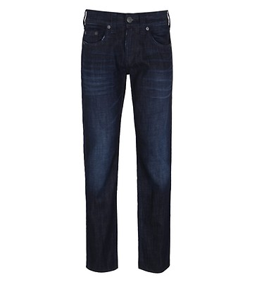 ee9bee250 True Religion Ricky Flap Worn Range Relaxed Straight Jeans ...