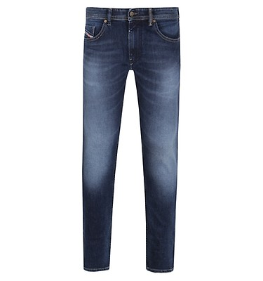 97c3d822ae13 Diesel Thommer Dark Blue Wash Slim Fit Jeans offer label