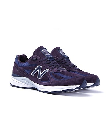 brand new b0abd dae97 New Balance M990 Made In The USA Purple Trainers ...