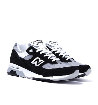 wholesale dealer dc228 7fdd6 New Balance M991 Black   Grey Made In England Trainers ...