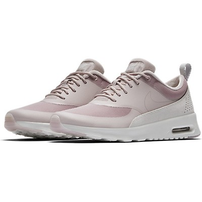 damen sneaker air max thea laufschuhe gunsmoke-particle rose