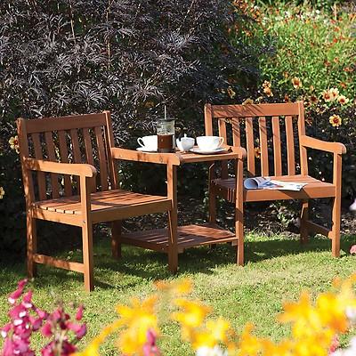 0a3fdb9aec48 Forest Rosedene Wooden Garden Table 5'x3' (1.5x0.9m)   Shedstore