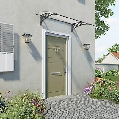 Palram Neo 1350 Grey Twinwall Door Canopy