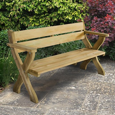9d642aac45af Forest Grizedale 8 Seater Wooden Garden Table and Chairs Dining Set ...