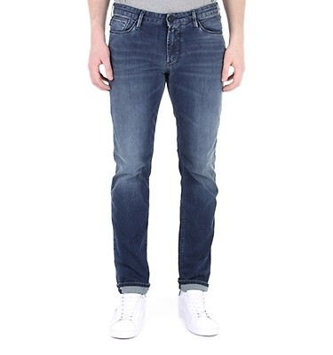 818773c9609 Emporio Armani Mid Blue Denim Wash J06 Slim Fit Jeans ...
