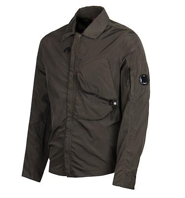 b7479a1b46e CP Company Khaki Chrome Overshirt ...