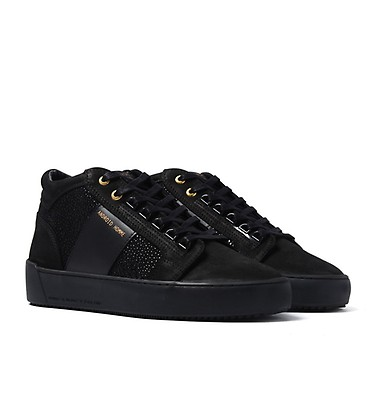 b5cdf3ba6253 Android Homme Propulsion Mid Carbon Black Stingray Trainers ...
