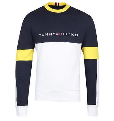 4603b6be0 Tommy Hilfiger Relaxed Stripe Navy Sweatshirt ...