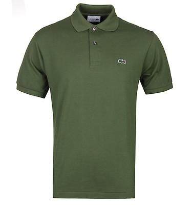 31a2775a6 Lacoste L1212 Khaki Classic Fit Polo Shirt ...