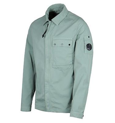 ef97eae1d2 CP Company Garbadine Aquamarine Overshirt ...