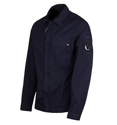 34a6a52d734e CP Company Garbadine Navy Overshirt ...