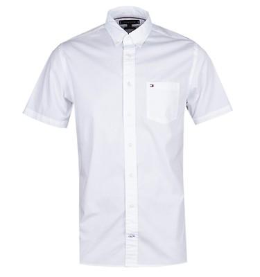 a08c6cef4 Tommy Hilfiger Stretch poplin White Shirt offer label