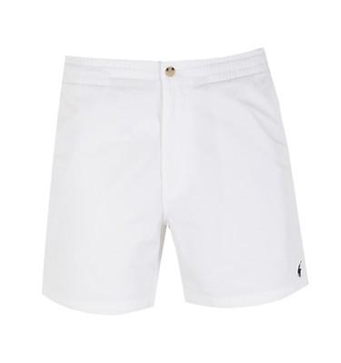 a99af50ea Polo Ralph Lauren Classic Fit White Prepster Short ...