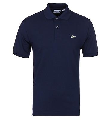 9d7900253471 Lacoste L1212 Navy Classic Fit Pique Polo Shirt ...