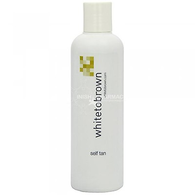 6b742ed3126 White to Brown Self Tan Lotion Dark 250ml | Inish Pharmacy | Ireland