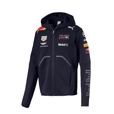 Men's Team Softshell Jacket Blue 2018 Aston Martin Red Bull