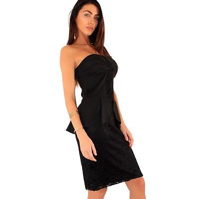 Lili London mekko musta - Mekot - Juhlamekot  117bc264e7