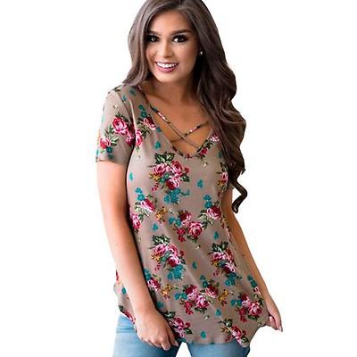 Sofia t-paita kukkakuvio v.ruskea 60f294d7e6