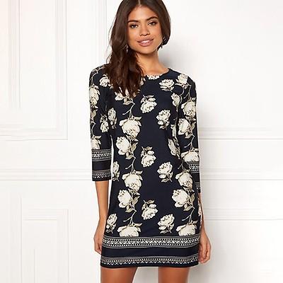 Happy Holly Blenda mekko t.sininen kukkakuvio d043e1e8c1