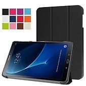 Samsung Galaxy Tab A 10.1 T580 T585 Vikbart Smart Fodral Stativ Svart 3dbdbe6c8d907