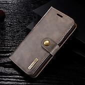 MING Samsung Galaxy S9 Plånboksfodral Löstagbart Skal Mörkbrun 31302a99074d9