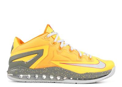 023053545bc18 Max Lebron 11 Low Collection - Nike - 683256 064 - metallic zinc ...