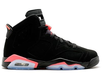 8068925aa62 Air Jordan 6 Retro - Air Jordan - 384664 061 - black/varsity red ...
