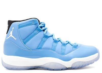 09b94b85850 Air Jordan 11 Retro - Air Jordan - 136046 142 - white/columbia blue ...
