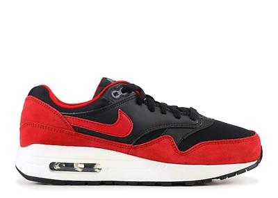 245a00eb1f91 W s Air Max 1 Essential - Nike - 599820 018 - black gym red-sail-gm ...