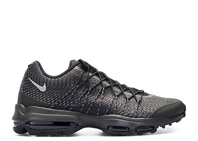 Nike Air Max 95 Ultra Jacquard Shoe BlackDark GreyMetallic